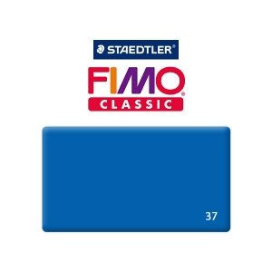 Полимерная глина Fimo Classic, 350г №37 - синий