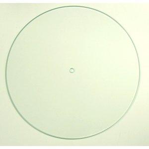 Основа стеклянная для часов круглая, d 25 см