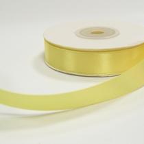 Атласная лента, цвет желтый №13, 15мм