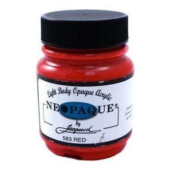 Акриловая краска JACQUARD NEOPAQUE - 583 RED (Красный)