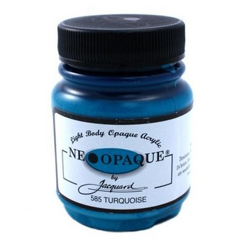 Акриловая краска JACQUARD NEOPAQUE - 585 TURQUOISE (бирюзовый)