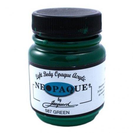 Акриловая краска JACQUARD NEOPAQUE - 587 GREEN (Зеленый)