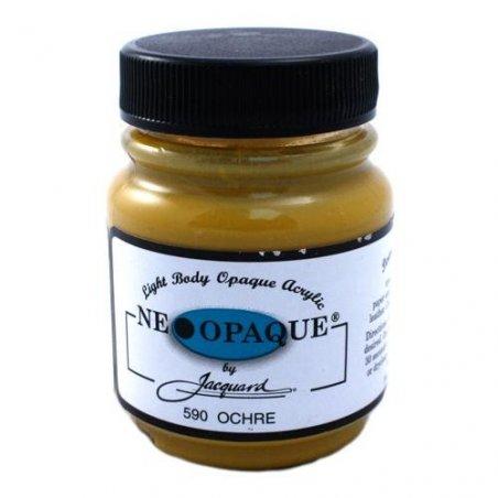 Акриловая краска JACQUARD NEOPAQUE - 590 OCHRE (Охра)
