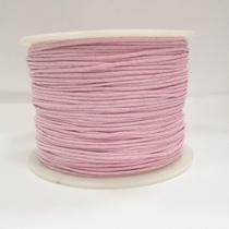 Вощеная нить светло-розовая, 1 мм
