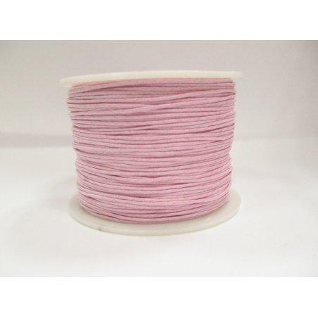 Вощеная нить светло-розовая