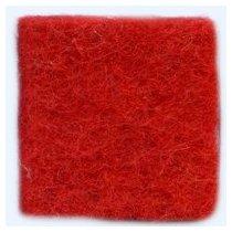 Шерсть новозеландский кардочес К3003 (27мк.), красный, 25г