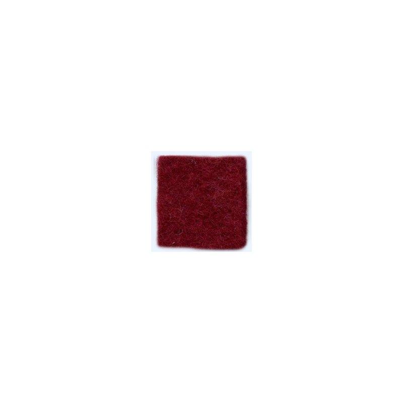 Шерсть новозеландский кардочес К3013 (27мк.), винный, 25 г