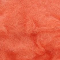 Шерсть новозеландский кардочес К3010 (27мк.), лососевый,25г