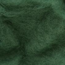 Шерсть новозеландский кардочес К5018( 27мк.), грязно-зеленый, 25г.