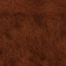 Шерсть новозеландский кардочес К2014 (27мк.), ореховый,25г.
