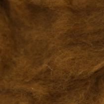 Шерсть новозеландский кардочес К5009 (27мк.), болотный, 25г.