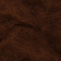 Шерсть новозеландский кардочес К3016 (27мк.), шоколадный,25г.