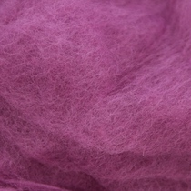 Шерсть новозеландский кардочес К4008 (27мк.), сиреневый,25г.