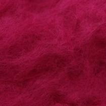 Шерсть новозеландский кардочес К3012 (27мк.), маджента,25г
