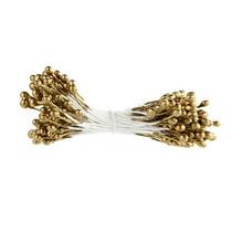 Цветочные тычинки  золотистые №77