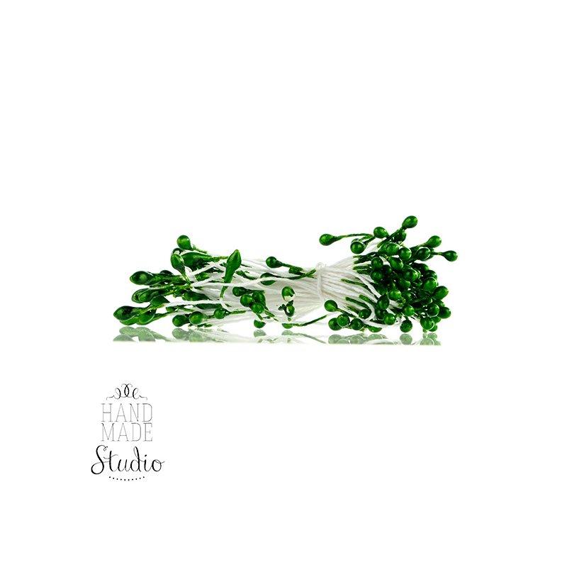 Цветочные тычинки зеленые №75