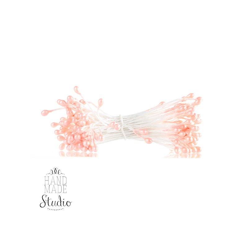 Цветочные тычинки светло-розовые №87