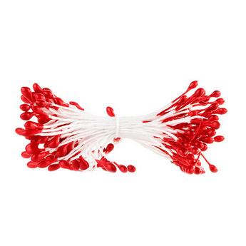 Цветочные тычинки красные №84
