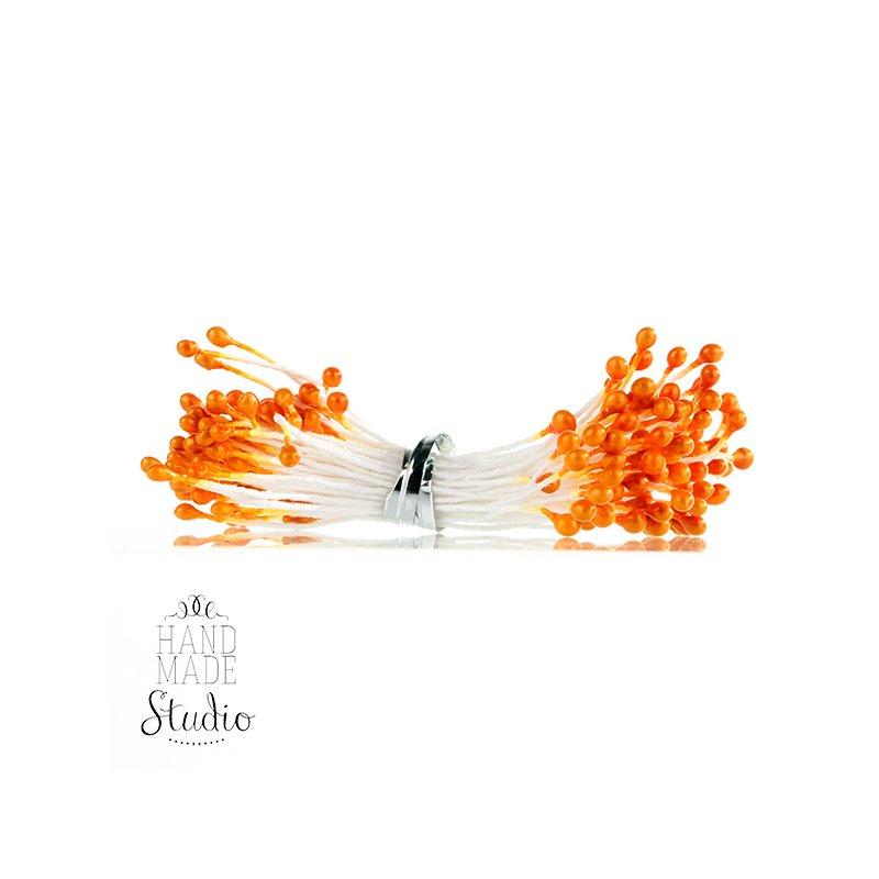 Цветочные тычинки оранжевые №83