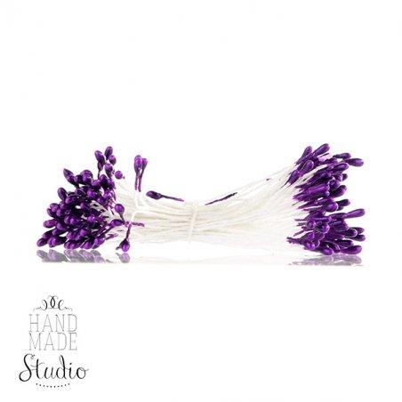 Цветочные тычинки фиолетовые №54