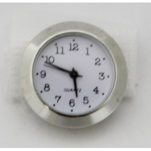 часовой механизм в сборе 35, серебристый