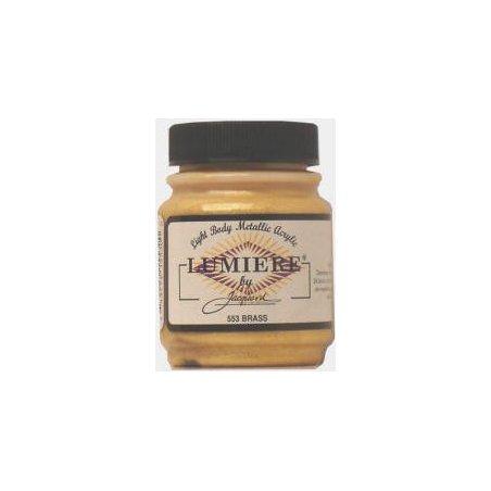 Акриловая краска JACQUARD LUMIERE - 553 Brass (Латунь)