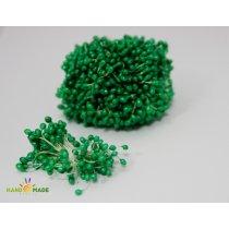 Цветочные тычинки зеленые с белыми концами №94