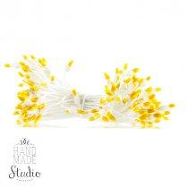 №19 Цветочные тычинки  белые с желтыми концами