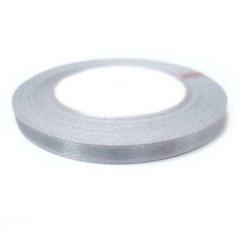 Атласная лента, цвет серый №41, 7мм