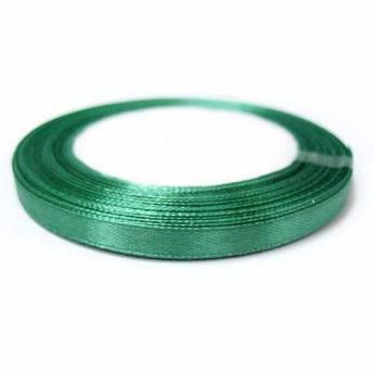 Атласная лента, цвет серо-зеленый №43, 7мм