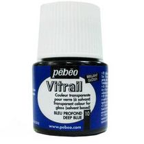 Краска для стекла Vitrail 10 Темно-синяя