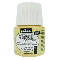 Краска для стекла непрозрачная Vitrail Opaque 40 Золотая рожь, 45 мл.