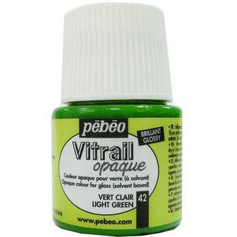 Краска для стекла непрозрачная Vitrail Opaque 42 Светло-зеленый