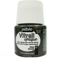 Краска для стекла непрозрачная Vitrail Opaque 47 Олово, 45мл.