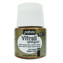 Краска для стекла непрозрачная Vitrail Opaque 47 Теплое золото