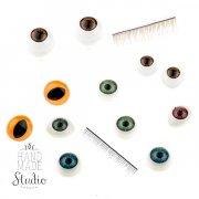 Ресницы и глаза для кукол для рукоделия - Киев: цена, фото, купить в интернет-магазине Handmade Studio