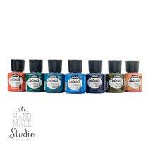 Рідкі фарби для батика та світлих натуральних тканин