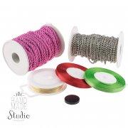 Купити дріт, шнури, нитки, стрічки для рукоділля в Україні