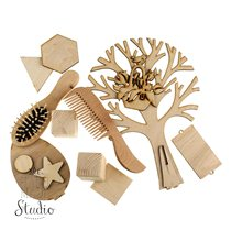 Разные деревянные заготовки