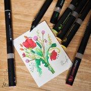 маркер, хамелеон, перманентный маркер, рисование, иллюстрация, дизайн, графика